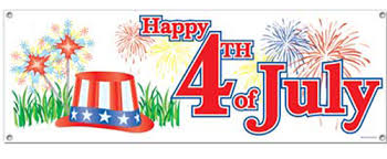 Image result for 4th of July signs