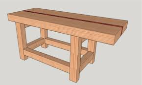 Bad Axe Tool Works  My Roubo Work BenchRoubo Woodworking Bench
