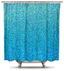 shower curtain hq catherine holcombe blue raspberry fabric shower curtain extra long shower