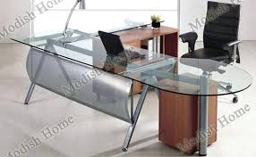 glass office furniture. Office Desks Glass. Unique Glass Executive Desk Corner Uk And Furniture A