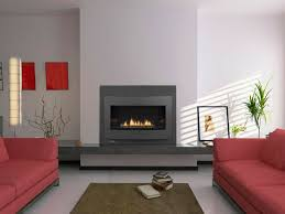 contemporary fireplace ideas narrow