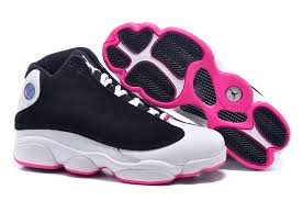 jordan shoes for girls 2016 black and white. cheap girls air jordan 13 retro gs hyper pink black white for sale women size 2015 shoes 2016 and 0