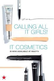 the cutting edge beauty brand it cosmetics is now available at macy s which means you can score your favorite s like your skin but better