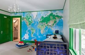 Kids Bedroom Wall Murals Delectable Toys R Us World Map Wall Mural Design Ideas