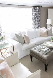 painted living room furniture. Decked \u0026 Styled Spring House Tour. Blush PillowsLiving Room PaintLiving Painted Living Furniture T
