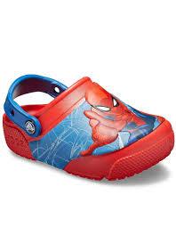 Spiderman Light Up Shoes Size 13 Crocs Fun Lab Spiderman Light Up Clog