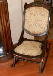 antique rocking chair ca early 1900s by cottageshabbys on