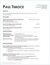 Electrical Engineering Resumes Delectable Computer Science Internship Resume New Entry Level Electrical