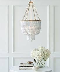 trend report beaded chandeliers bria hammel interiors