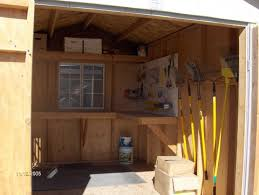 we can custom build shelving to fit the needs of your shed