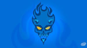 intel devils canyon skull blue cpu k full