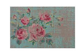 canevas charlotte lancelot spaces canevas flowers rug