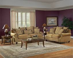 Living Room Sofa And Loveseat Sets Beige Fabric Classic Living Room Sofa Loveseat Set
