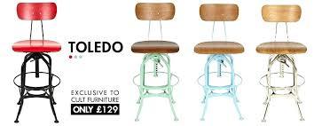 full image for vintage toledo bar chair metal toledo vintage toledo leather bar chair vintage toledo