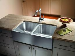 creative of stainless steel double bowl farmhouse sink popular stainless steel farm sink hardware plans