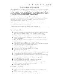 Retail Visual Merchandising Resume Sales Retail Lewesmr