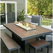 wayfair patio sets dining height fire pit table outdoor dining table with fire pit round patio