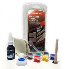 leather and vinyl repairs kit rips burns tears repair tool fix car seat coat new