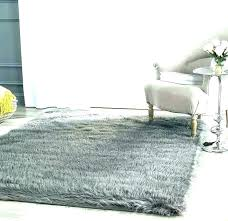 fur area rug gray faux rugs big w black grey withb info