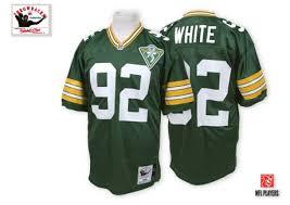 Bay Jersey Packers White Green Reggie