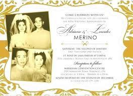 50th Anniversary Party Invitations Invitation For 50th Wedding Anniversary Party Bahiacruiser