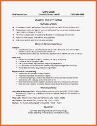 Wonderful Pastry Cook Resume Samples Pictures Inspiration