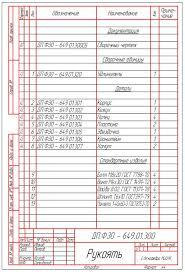 Положение о дипломном проектировании в двух частях разработано и  Рисунок В 8 Пример выполнения спецификации на сборочную единицу входящую в изделие