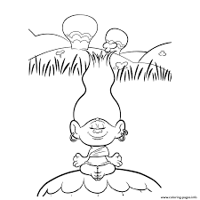 Small Picture TROLLS Coloring Pages Free Printable