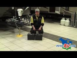 12 volt dual battery setup pete's rv quick tips (cc) youtube camper trailer battery wiring diagram Trailer Battery Wiring Diagram #48