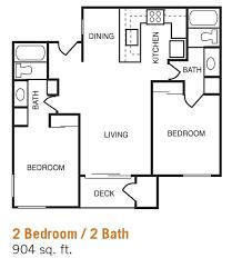 inspirational 2 bedroom 2 bath house plans and incredible decoration 2 bedroom bath floor plans bedroom