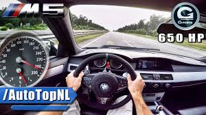 BMW Convertible bmw e60 545i supercharger : BMW M5 V10 BI-SUPERCHARGED G POWER AUTOBAHN POV by AutoTopNL - YouTube