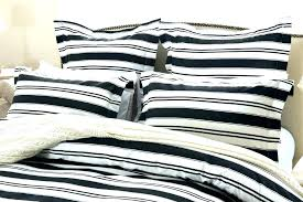 striped duvet cover king bedding sets covers white ticking stripe blue and navy w