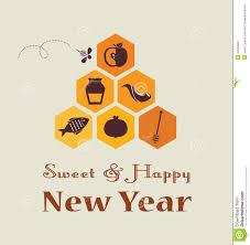 rosh hashanah greeting card greeting card for jewish new year rosh hashana with traditional