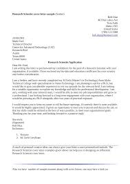 Free Download Environmental Science And Technology Cover Letter