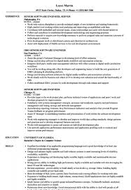 Software Engineer Resume Template Blueskiesphotoblogcom