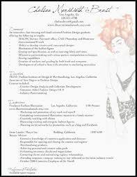 Fashion Stylist Resume Samples Resume For Fashion Stylist Fashion