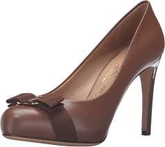 Ferragamo Women S Shoe Size Chart Salvatore Ferragamo Womens Pimpa C Ecorce Calf Leather Pump