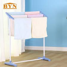 towel rack stand. Simple Stand BYN Cloth Towel Rack Stand Free Floor Standing Clothes Rail  Dry Holder Household Intended O