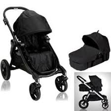 Baby Jogger 20310KIT1 City Select Stroller with Bassinet Onyx with Black  Frame