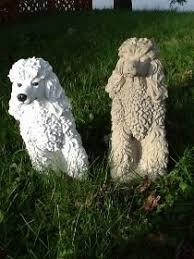 dog garden statue. Concrete Dog Statues Garden Statue