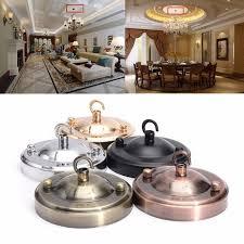 retro vintage ceiling rose hook plate holder light fitting chandelier lamp bulb