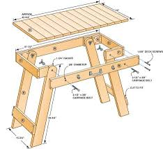 chapter wooden folding table legs plans