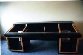 custom built desk show me your homemade or custom made console or studio furniture no or