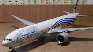 Стендовый моделизм. Сборка Boeing 777-300ER. - YouTube