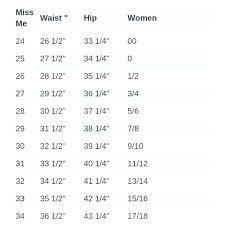Size Conversion Chart Jeans Pacsun Jeans Size Chart Cryptoletter Co