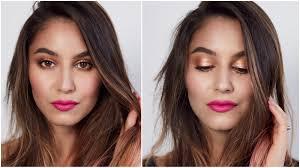 fresh glowing spring makeup tutorial