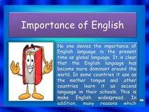 importance of english in english in uk essays