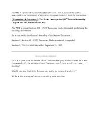 the scopes trial documents and essay prompt com the scopes trial documents and essay prompt click