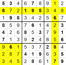 Sudoku Number Combinations Chart Sudoku And Backtracking By