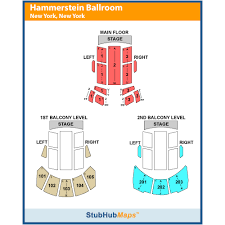 The Hammerstein Ballroom Seating Chart 2019